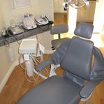 dentist chair front view